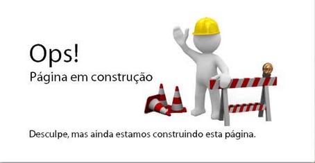 Resultado de imagem para página em construção